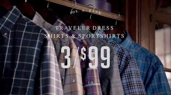 JoS. A. Bank Columbus Day Sale TV Spot, 'Wardrobe Change: Buy 1 Get 2 Free' - Thumbnail 5