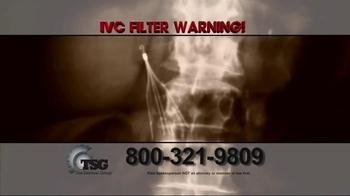 The Sentinel Group TV Spot, 'IVC Filter Warning' - Thumbnail 3