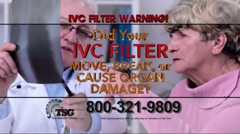 The Sentinel Group TV Spot, 'IVC Filter Warning' - Thumbnail 4