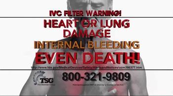 The Sentinel Group TV Spot, 'IVC Filter Warning' - Thumbnail 6