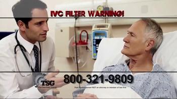 The Sentinel Group TV Spot, 'IVC Filter Warning' - Thumbnail 7