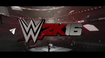 WWE 2K16 TV Spot, 'Raise Some Hell' - Thumbnail 1