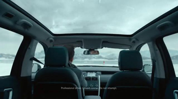 2015 Land Rover Discovery Sport TV Spot, 'The Crossing' - Thumbnail 3