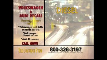 The Cochran Law Firm TV Spot, 'Volkswagen & Audi Recall' - Thumbnail 5