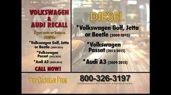 The Cochran Law Firm TV Spot, 'Volkswagen & Audi Recall' - Thumbnail 6