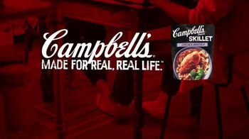 Campbell's Chicken Marsala Skillet Sauces TV Spot, 'Real Real Life: Phones' - Thumbnail 8