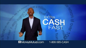 Money Mutual TV Spot, 'Extra Cash Fast' Featuring Montel Williams - Thumbnail 1