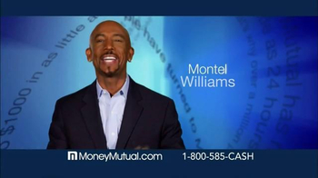 Money Mutual TV Spot, 'Extra Cash Fast' Featuring Montel Williams - Thumbnail 2