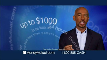 Money Mutual TV Spot, 'Extra Cash Fast' Featuring Montel Williams - Thumbnail 4