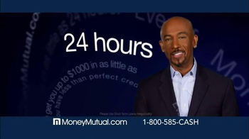 Money Mutual TV Spot, \'Extra Cash Fast\' Featuring Montel Williams