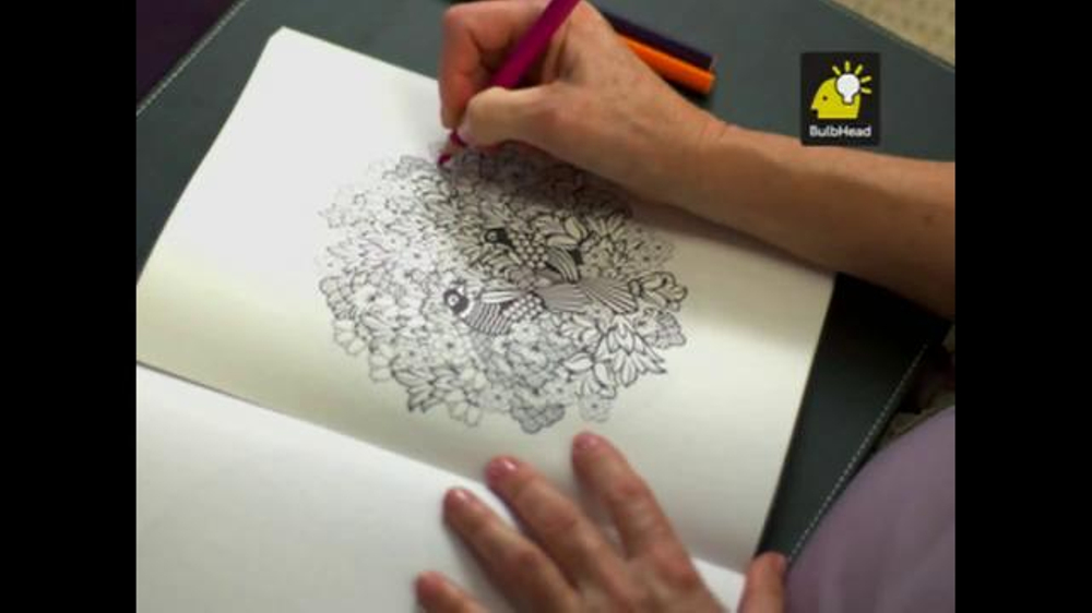 Colorama Books TV Commercial Coloring For Adults