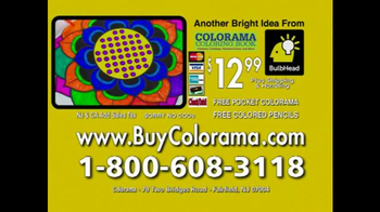 Colorama Books TV Spot, 'Coloring for Adults' - Thumbnail 7