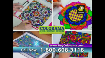 Colorama Books TV Spot, 'Coloring for Adults' - Thumbnail 4