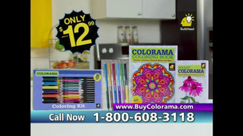 Colorama Books TV Spot, 'Coloring for Adults' - Thumbnail 6
