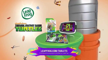 Leap Frog Teenage Mutant Ninja Turtles Imagicard TV Spot, 'Nickelodeon'