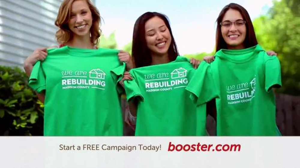 Booster TV Commercial, 'Design Your Shirt'