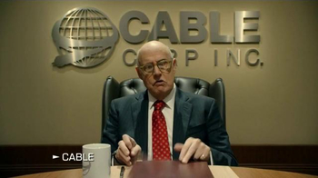 DIRECTV TV Spot, 'Cable Corp Merges With CableWorld' Feat. Jeffrey Tambor - Thumbnail 1