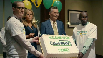 DIRECTV TV Spot, 'Cable Corp Merges With CableWorld' Feat. Jeffrey Tambor - Thumbnail 8