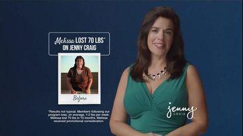 Jenny Craig Weight Loss Starter Kit TV Spot, 'Melissa' - 1153 commercial airings
