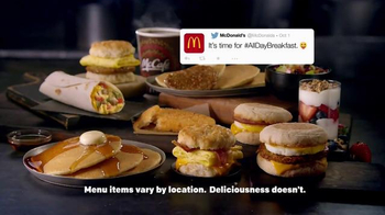 McDonald's All Day Breakfast Menu TV Spot, 'Celebration' - Thumbnail 7