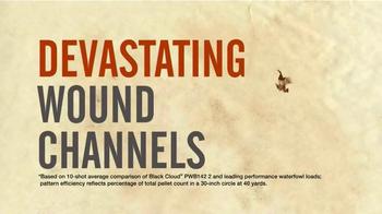 Federal Premium Ammunition Black Cloud TV Spot, 'Efficient Patterns' - Thumbnail 6