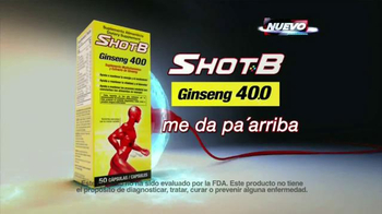Shot B Ginseng TV Spot, 'Fatiga y falta de energía' [Spanish] - Thumbnail 8