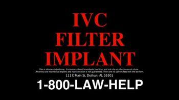 The Cochran Law Firm TV Spot, 'IVC Filter Alert'