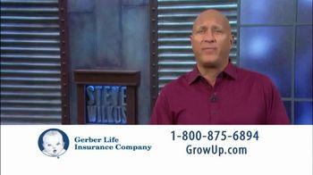 Gerber Life Insurance TV Spot, 'Steve Wilkos'