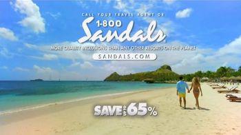 Sandals Resorts TV Spot, 'Quality Inclusions' - Thumbnail 7