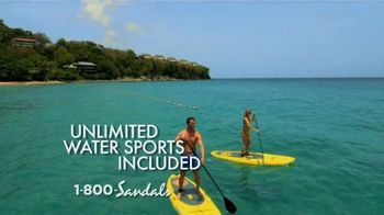 Sandals Resorts TV Spot, 'Quality Inclusions' - Thumbnail 1