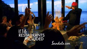 Sandals Resorts TV Spot, 'Quality Inclusions' - Thumbnail 4