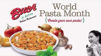 Buca di Beppo TV Spot, 'Create Your Own Pasta'