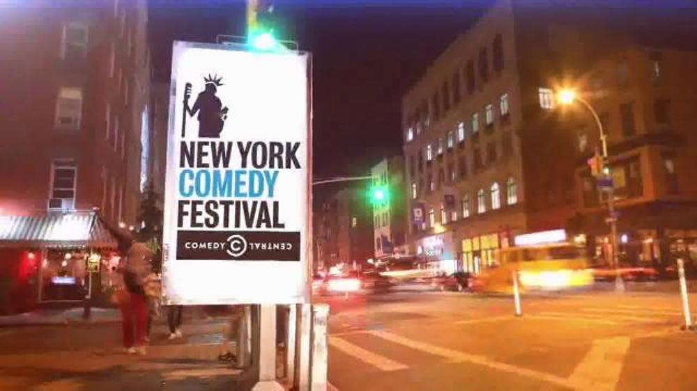2015 New York Comedy Festival TV Commercial, 'Shows by Trevor Noah and Bill Burr'