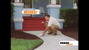 Crack Away TV Spot, 'Lasts for Years' - Thumbnail 4