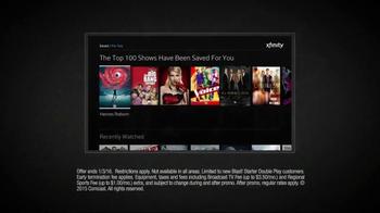 XFINITY X1 Double Play TV Spot, 'Popcorn' - Thumbnail 5