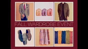 Fall Wardrobe Event: Men's Suits and Shoes thumbnail