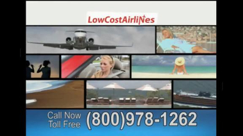 Low Cost Airlines TV Spot, 'Lowest Travel Prices Anywhere'