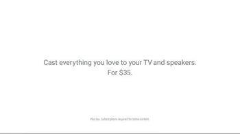 Google Chromecast TV Spot, 'Love It a Lot' Song by Rizzle Kicks - Thumbnail 6