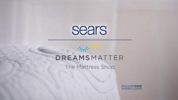 Sears Columbus Day Mattress Sale TV Spot, 'Two Thirds Better' - Thumbnail 9