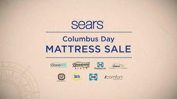 Sears Columbus Day Mattress Sale TV Spot, 'Two Thirds Better'