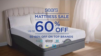 Sears Columbus Day Mattress Sale TV Spot, 'Two Thirds Better' - Thumbnail 2