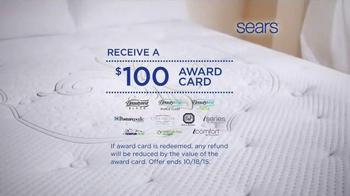 Sears Columbus Day Mattress Sale TV Spot, 'Two Thirds Better' - Thumbnail 4