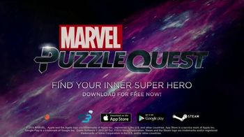 Marvel Puzzle Quest TV Spot, 'Annoying Flight Passenger' - Thumbnail 8