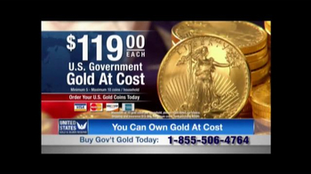 United States Gold & Silver Reserve TV Spot, 'Uncertain Times'