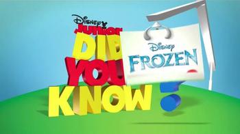 Disney Frozen Elsa's Ice Palace Playset TV Spot, 'Disney Junior'