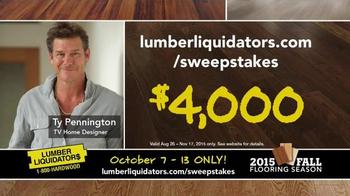 Lumber Liquidators 2015 Fall Flooring Season TV Spot, 'Final Days' - Thumbnail 10