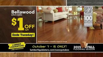 Lumber Liquidators 2015 Fall Flooring Season TV Spot, 'Final Days' - Thumbnail 4