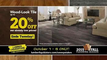 Lumber Liquidators 2015 Fall Flooring Season TV Spot, 'Final Days' - Thumbnail 5
