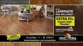 Lumber Liquidators 2015 Fall Flooring Season TV Spot, 'Final Days' - Thumbnail 6