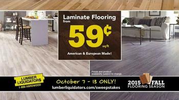 Lumber Liquidators 2015 Fall Flooring Season TV Spot, 'Final Days' - Thumbnail 7